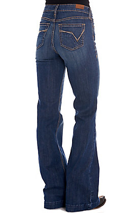Ariat Women's Julia Dark Wash High Rise Slim Trouser Jeans
