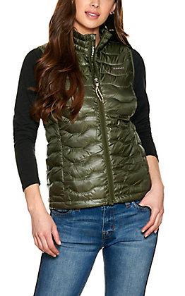 Ariat Women's Ideal 3.0 Prairie Green Down Vest