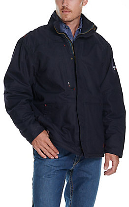 Ariat Men's Workhorse Navy Insulated CAT 4 FR Jacket