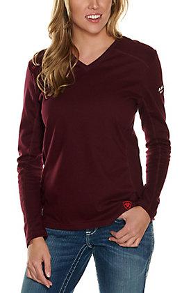 Ariat Women's Malbec AC Long Sleeve FR Work Shirt