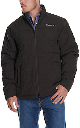 Ariat Men's Criss Espresso Brown Insulated Conceal Carry Jacket
