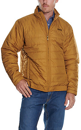 Ariat Men's Mosier Bronze Brown Concealed Carry Quilted Jacket