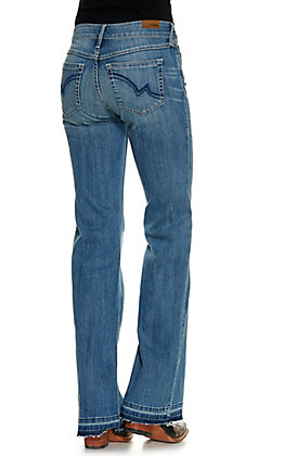 Ariat Women's Leah 3D Medium Wash Mid Rise Trouser Jean
