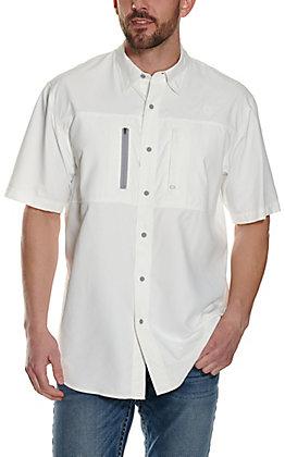 Ariat Men's Pro VentTek Solid White Short Sleeve Shirt