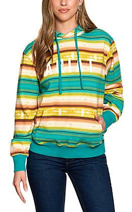 Ariat Women's R.E.A.L Baja Stripe Long Sleeve Hoodie