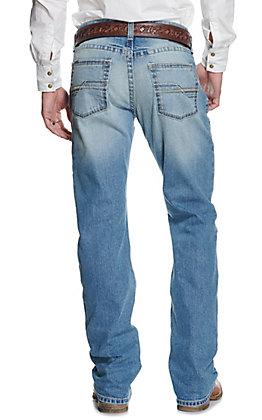 Ariat Men's M5 Shasta Light Wash Stackable Straight Leg Slim Fit Jean - Cavender's Exclusive