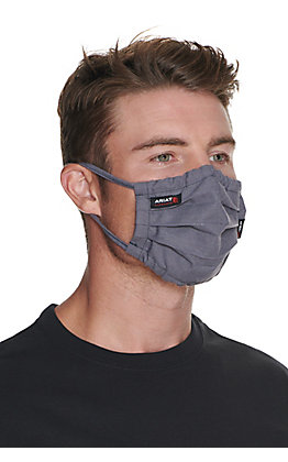 Ariat Men's Grey Featherlight FR Face Mask