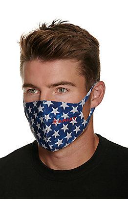 Ariat TEK Blue Stars Unisex Face Mask