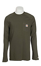 Carhartt Men's Moss Relaxed Fit Long Sleeve T-Shirt - Big & Tall