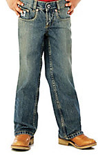 Cinch Boys' Low Rise Sandblast Slim Fit Jean--Sizes 4-7