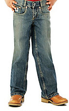 Cinch Boys' Low Rise Sandblast Regular Fit Jean--Sizes 4-7