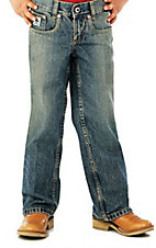Cinch Boys' Low Rise Sandblast Regular Fit Jean--Sizes 8-18