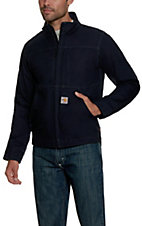 Carhartt Navy Flame-Resistant Quick Duck Jacket