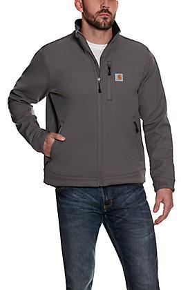 Carhartt Men's Crowley Charcoal Grey Softshell Jacket