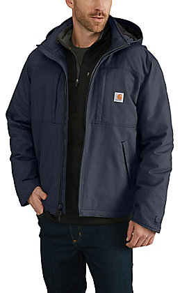 Carhartt Shadow Navy Full Swing Cryder Jacket - Big & Tall