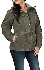 Carhartt Women's Woodland Weathered Duck Wesley Jacket