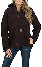 Carhartt Women's Deep Wine Wine Full Swing Caldwell Jacket