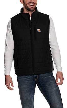 Carhartt Men's Shadow Black Quilted Vest