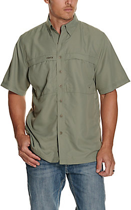 GameGuard Outdoors Men's Mesquite MicroFiber Fishing Shirt