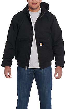 Carhartt Men's Black Full Swing Armstrong Active Jacket - Big & Tall