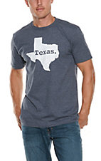 Men's Navy Texas State T-Shirt
