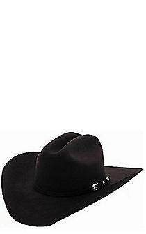 7d2c629069543 Cavender s 10X Silver Star Black Felt Cowboy Hat