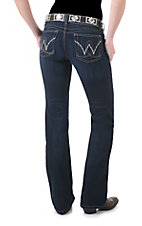 Booty Up by Wrangler Ladies Carolina Breakaway Dark Wash Low Rise Jean