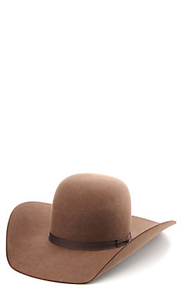 Rodeo King 10X Hickory Felt Cowboy Hat