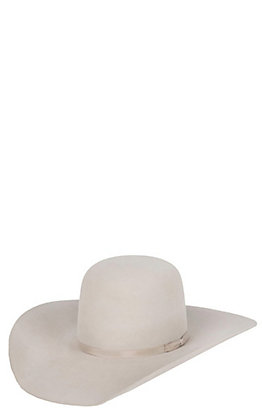 Rodeo King 10X Silver Belly Open Crown Hat