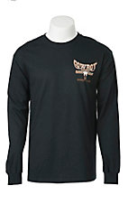 Cowboy Hardware Black Long Sleeve Tee