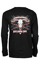Cowboy Hardware Men's Black Built Cowboy Tough L/S T-Shirt