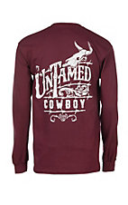 Cowboy Hardware Men's Untamed Cowboy Long Sleeve T-Shirt