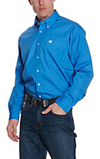 Cinch L/S Mens Solid Fine Weave Shirt 1103799