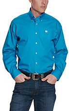 Cinch L/S Mens Solid Fine Weave Shirt 1103800