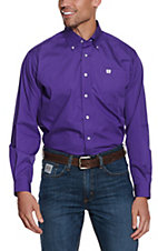 Cinch L/S Mens Solid Fine Weave Shirt 1103802