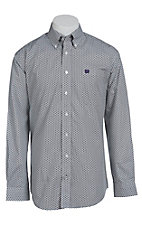 Cinch L/S Men's Fine Weave Shirt 1103909