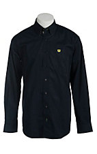 Cinch Men's Solid Navy Western Shirt