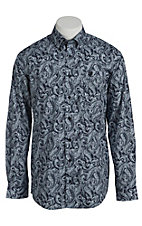 Cinch Men's Navy Paisley Western Shirt