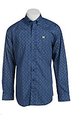 Cinch Men's Royal Paisley Print Western Shirt
