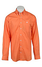 Cinch L/S Mens Solid Fine Weave Shirt 1103985