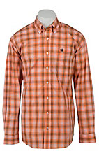 Cinch L/S Mens Fine Weave Shirt 1103987