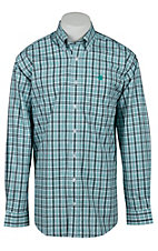 Cinch L/S Mens Fine Weave Shirt 1103991