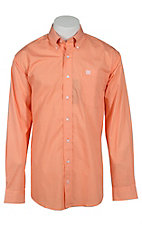 Cinch L/S Mens Fine Weave Shirt 1103996