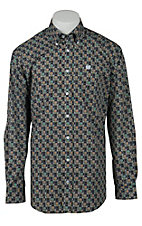 Cinch L/S Mens Fine Weave Shirt 1103997