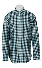 Cinch L/S Mens Fine Weave Shirt 1104003