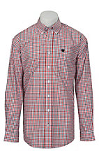 Cinch L/S Mens Fine Weave Shirt 1104005