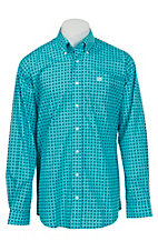 Cinch L/S Mens Fine Weave Shirt 1104012