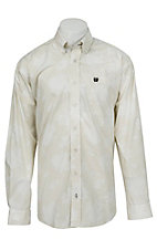 Cinch L/S Mens Fine Weave Shirt 1104013