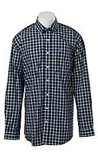 Cinch L/S Mens Fine Weave Shirt 1104019