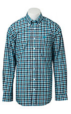 Cinch L/S Mens Fine Weave Shirt 1104023